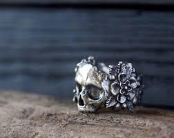 skull gothic rings images Rings etsy ie jpg