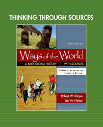thinking through sources for ways of the world volume 1