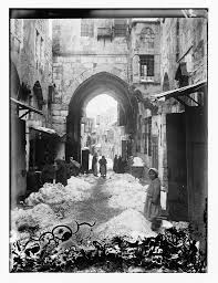 jerusalem in 1921 snow is mentioned in the bible only once