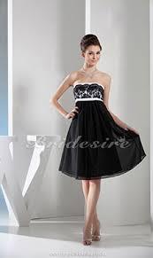 a linie herzausschnitt knielang chiffon brautjungfernkleid mit gestupft p551 bridesire umstands cocktailkleider umstands