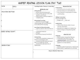 guided reading lesson plan template best 25 guided reading