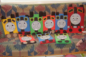 of dawn crafts choo choo train party two years thomas