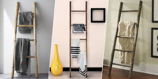 Tall Bookcase With Ladder by 2017 U0027s Best Blanket Ladders For Throws Display Blankets On
