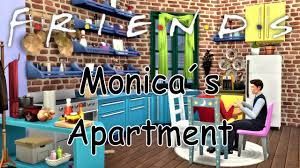 the sims 4 friends monica s apartment youtube