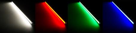 multi color led light bar led linear light bar fixture 383 lumens aluminum light bar