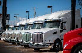 volvo truck of the year sales downshift at heavy truck makers wsj