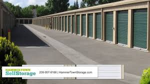 hammer town hammertown self storage storage in stockton youtube