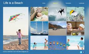 vacation photo albums a free online family summer album with wix