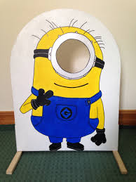 minion photo booth u2026 pinteres u2026