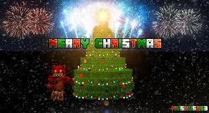 merry christmas minecraft version by mushu5263 on deviantart