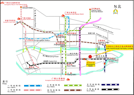 Metro Bus Routes Map by The 19th China International Exhibition On Packaging Machinery