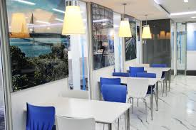 Office Canteen Design by India Principal Offices Ramboll Middle East