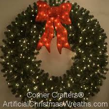 lighted christmas wreath 60 inch lighted christmas wreath cornercrafters wreaths