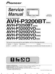 exciting pioneer avh p3200dvd wiring diagram contemporary and
