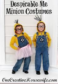 Minion Costumes Halloween Halloween Costume Ideas Kids U0027s Blog