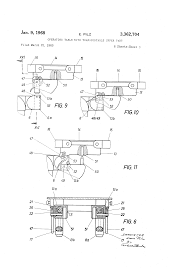 patent us3362704 operating table with transportable upper part