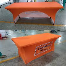 Spandex Table Cover Sale Promotional Spandex Table Covers Printing