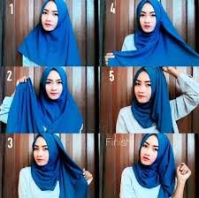 tutorial jilbab remaja yang simple tutorial hijab terbaru 2017 agar terlihat lebih cantik bundaku net