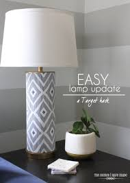 easy and awesome lamp update a target hack the homes i have