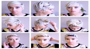 how to do a pixie hairstyles seven no heat pixie hairstyles hair tutorial pt 3 youtube