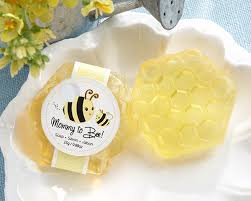 baby shower soap favors to bee honeycomb soap baby shower favors