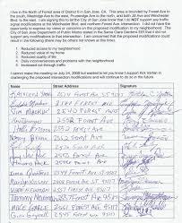 9 best photos of neighborhood petition form sample signature