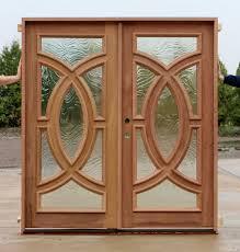 modern elegant exterior double doors