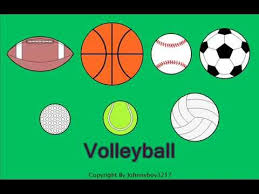 learn the names of 7 different sport balls for children sport