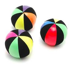 mister babache duo star juggling ball juggle bean bag toy kids