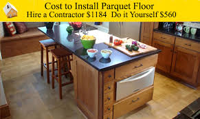 cost to install a parquet floor