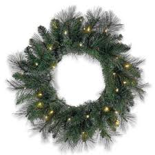 buy 24 battery operated wreaths from bed bath beyond