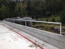 Temporary Handrail Systems Rooftop Guardrail Systems Peak Fall Protection Inc