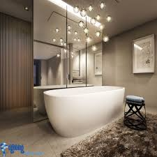 Modern Bathroom Lights Bathroom Lighting Ideas Bathroom With Hanging Lights Bathtub