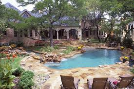 Pool Ideas For Backyard Freeform Pool Designs Mckinney Natural Pool Designs