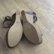 ugg sale wedges ugg sale brand ugg brown and sandal wedges from