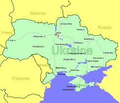 ukraine map airports in ukraine with flights from the uk and ireland