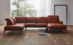canapé cuir en u grand canapé design en u cuir adoration tm