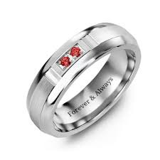 groove culture wedding band couples rings personalize with birthstones and engravings jewlr