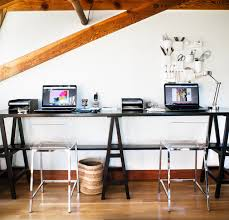 kangaroo standing desk home office contemporary with bar brick