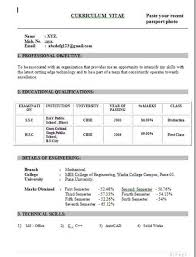resume format for freshers engineers eceti ece sle resume sle ece resume gallery best format candidate
