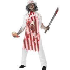 mens zombie bloody matador halloween dress up costume 44368