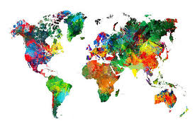 countries visited map how many countries in the you visited find out with