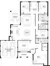 single floor 4 bedroom house plans contemporary house plans single story bedroom 4 bedroom contemporary