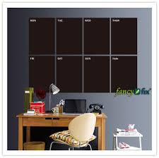 a4 sized weekly planner blackboard sticker memo removable vinyl the decal are self adhesive and keep on with any easy floor works top notch with standard chalk or chalk pens wipe off with an eraser or dampcloth