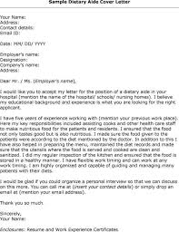 psychiatric aide cover letter