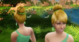 tinkerbell hairstyle sims 4 hairs mystufforigin tinkerbell hairstyle