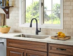 tuscan bronze kitchen faucet pfister f 529 7cny canton single handle pulldown sprayer kitchen