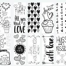 printable easter bookmarks to colour bookmark coloring pages printable adult coloring pages animals
