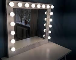Wall Vanity Mirror With Lights Vanity Mirror Etsy