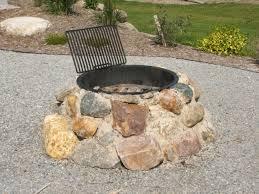 Firepit Stones Stones For Pit Pit Ideas